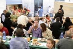 Tenreira en tres pratos diferentes, na Festa da Carne de Montederramo