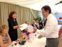 Homenaxe a Amparo Folla, ex directora do IES Lauro Olmo