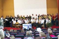 A Coral Candea honra á patroa dos músicos