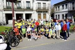 Reivindicando o Camiño de Inverno por Valdeorras, en bicicleta