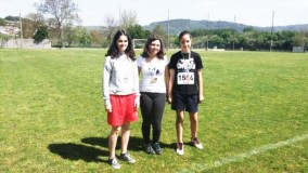Triunfos valdeorreses no campionato provincial de orientación escolar