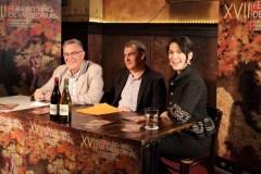 Cristina Pato respalda a presentación da Feira do Viño de Valdeorras en Ourense