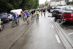 """Os """"xabaríns"""" ciclistas percorren os montes da Rúa"""