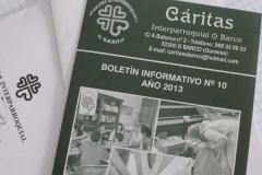 Cáritas Interparroquial do Barco atendeu a case mil persoas no 2013