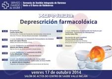 """""""Xornada sobre Deprescrición Farmacolóxica"""", no Centro de Saúde Valle Inclán"""