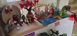 O colexio Divina Pastora do Barco expón os beléns feitos polos alumnos