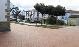 Sober conclúe as obras de reforma do entorno da súa Casa Consistorial