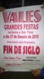 A orquestra Fin de Siglo amenizará a Festa de Vales