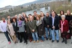 Besteiro, na presentación da candidatura do PSdeG na cidade de Ourense