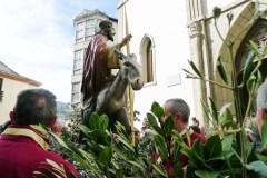 A procesión de ramos abre a Semana Santa na provincia