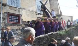A Semana Santa na parroquia de Santo Estevo da Rúa, en imaxes