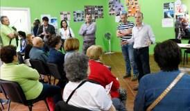 O candidato socialista reúnese cos veciños da Chavasqueira