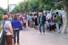 Viños de Valdeorras a ritmo de folk, no Malecón do Barco