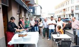 A arte de cortar xamón no bar O Retorno