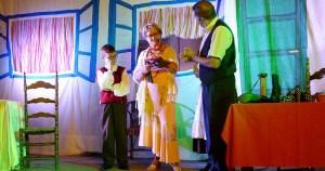 O teatro abre as festas de San Roque na Rúa