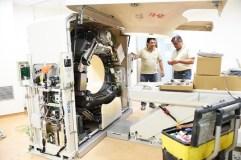 Comeza a instalación do TAC no HCV do Barco