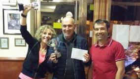 Alfonso e Carmen, ganadores do XIII Trofeo de Mus Veira Sil