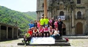 Trotadas xunta nun mesmo día o Maratón de Valdeorras e a Romería As Ermitas