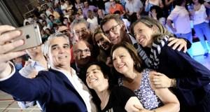 O PP pecha a campaña en Ourense nun ateigado pavillón dos Remedios