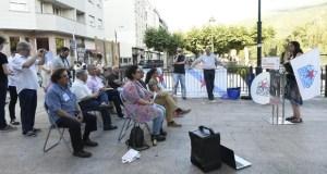 Acto cultural e político do BNG no Malecón do Barco
