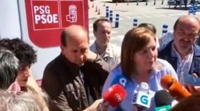 Os socialistas presentan as súas candidaturas no Barrio da Ponte de Ourense