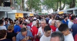 Máis de 6.000 visitantes e de 7.000 degustacións na XIX Feira do Viño de Valdeorras