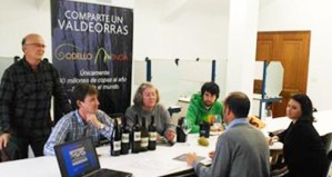 A Master of Wine Angela Muir cata godellos e mencías valdeorreses