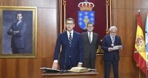 Feijóo inicia o seu terceiro mandato como presidente da Xunta de Galicia