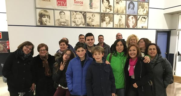 """Tres alumnos triveses actúan no """"Land Rober"""" da TVG"""