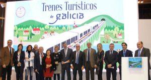 """O """"Tren Ourense Termal"""", a estrela da campaña """"Galicia a todo tren"""" en Fitur"""