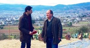 Moisés Blanco reúnese co presidente da Ruta do Viño de Valdeorras