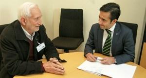O alcalde de Vilariño de Conso reúnese co conselleiro de Política Social