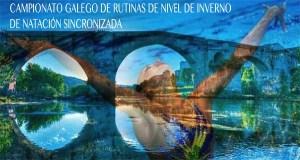Ourense acolle este sábado o campionato galego de rutinas de nivel de inverno de natación sincronizada