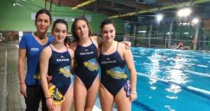Tres deportistas ourensás no campionato de España cadete de salvamento