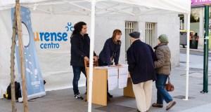 Os comerciantes de Ourense recollen sinaturas para que se declare o 19 de marzo festivo permanente