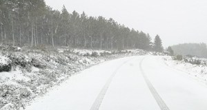 A neve deixa sen clases a case 3.000 alumnos ourensáns
