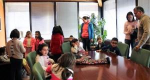 Alumnos do CEIP Otero Pedrayo visitan o Concello do Barco de Valdeorras