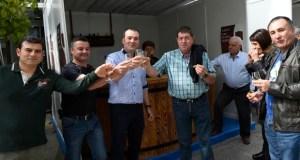 Entre brindes e sons de gaita, na XXXV Feira do Viño de Quiroga