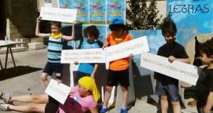 Os nenos, protagonistas do Correlingua en Trives