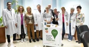 """O Hospital Comarcal Valdeorras xa conta co """"Carriño de Don Amable"""""""