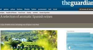 """O godello valdeorrés, en """"The Guardian"""""""