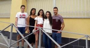 Cinco alumnos do IES Lauro Olmo conseguen a excelencia académica na ABAU 2017