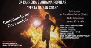 Deporte, pancetada e música para celebrar a noite de San Xoán no Barco