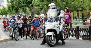 Marcha cicloturista dos alumnos do CEIP Otero Pedrayo de Viloira