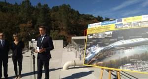A nova depuradora de Ourense estará funcionando un ano en proba