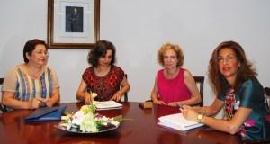 A nova directiva de AEVA reúnese coa delegada da Xunta en Ourense