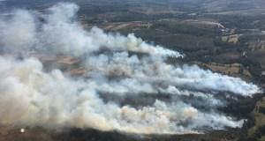Novo incendio forestal no oriente ourensán