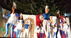 Os contos fanse baile e teatro en Trives
