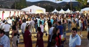Multitude de persoas dan culto a Baco na Rúa