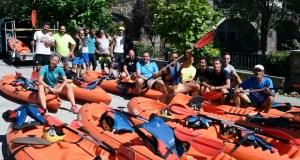CUFA celebra o verán baixando o río Sil